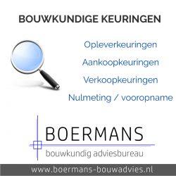 Boermans Bouwadvies Bouwkundige keuringen
